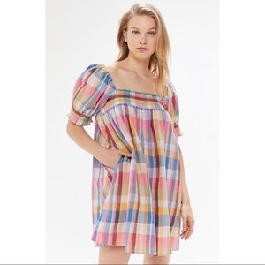 NWOT Urban Outfitters Puff Sleeve Babydoll Dress